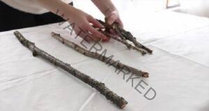 Събрала от двора една дузина дървени пръчки и сътворила чудо!