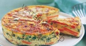 Фритата: италиански омлет. Вкусна и бърза закуска!
