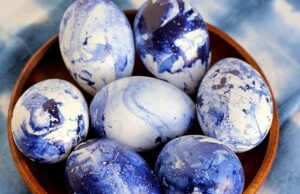 Как да боядисате яйцата за Великден: оригинален мастър-клас