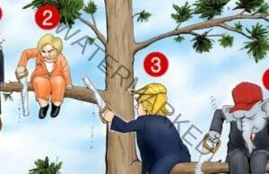 Кой е глупавият в тази картина? Отговорете честно и разберете какъв е вашия проблем!