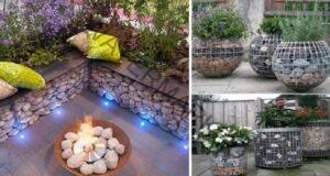 Габиони: Съвременния начин да направите вашата градина уникална!
