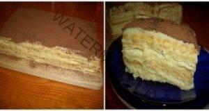 """Торта """"А ла тирамису"""" - много по-вкусна и по-евтина!"""