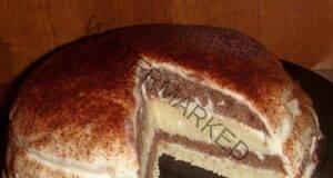 Торта с кисело мляко: Най-лесният десерт на света!