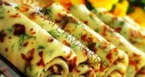 Вкусни палачинки със сирене и пресни подправки: Уникални са!