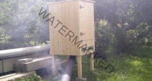 Домашна пушилня за опушване на месо и риба по студена технология