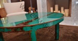 Ето как старата маса може да изглежда като нова!