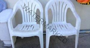 Имате стари пластмасови столове Ето какво да направите с тях!