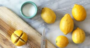 Срежете 1 лимон на 4 парчета и го поръсете със сол! Ето защо!