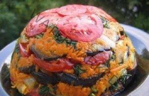Торта от зеленчуци: Лятна салата с невероятен вкус