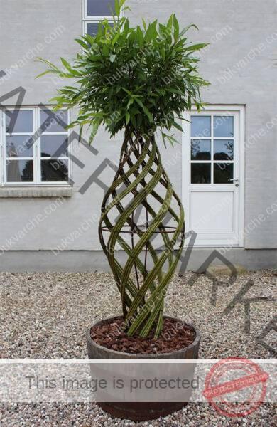 Най-доброто решение за градината ви Плет от върбови клони..