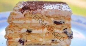 Десерт от сини сливи без печене! Готов за минути!