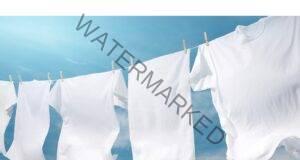 Получете ярко бели дрехи с тази естествена смес!