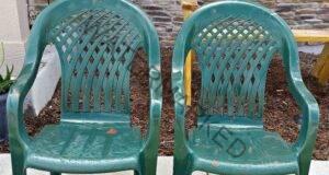 Преобразете стария стол с няколко достъпни средства!