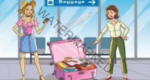 Тест с един въпрос: На кое момиче принадлежи куфарът?