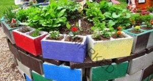 Бетонни блокове за декорация на градината? Вижте тези 15 идеи!