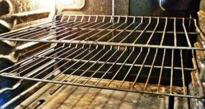 Почистете решетките на фурната с този лесен метод!