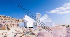 Дом от транспортен контейнер в пустинята: Странно, но е истина!