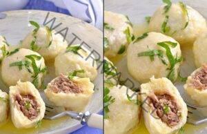 Рецепта от картофени кюфтенца с пълнеж! Зарадвайте семейството!
