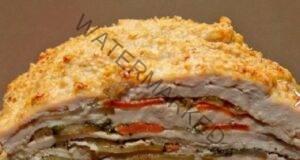 Пилешки гърди със зеленчуци - зарадвайте гостите си с тази рецепта