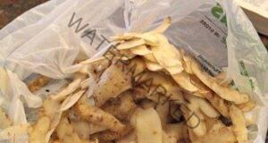 Премахнете сивата коса с помощта на обелки от картофи!