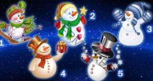 Вълшебно предсказание носят тези снежни човеци!