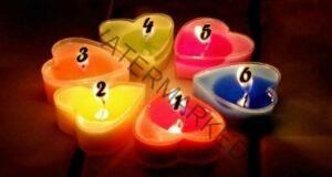 Изберете една свещ - тест на известен психолог
