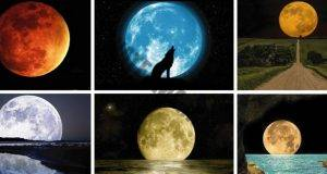 Какъв човек сте? Изберете луна и прочетете значението!