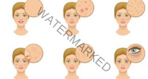 Недостигът на витамини може да бъде видян на лицето ви!