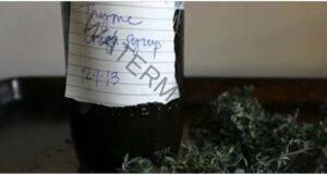 Спрете кашлицата със сироп от джинджифил и мащерка