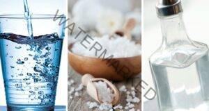 Това ще се случи в дома ви, ако поставите чаша сол и оцет на пода!