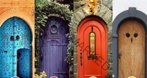 Изберете вратата, която ще ви отведе към щастието?
