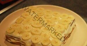 Страхотна торта без печене с банани! Толкова е невероятна!