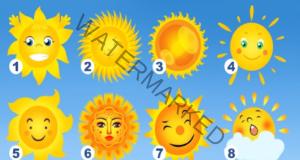 Тест: Изберете слънце и разберете в какво сте най-добри!
