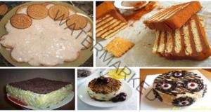 Торти от бисквити - 5 от най-добрите рецепти в света