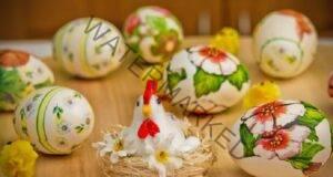 Декупаж на яйца за Великден: ще имате истински шедьовър