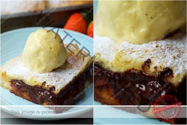 Десерт с шоколад, за който не са ви необходими кори и пълнеж