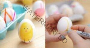 Как да украсите яйцата по специален начин за Великден?