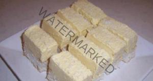 Сочен кейк с кокос, без яйца, без масло - не трябва и миксер