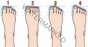 Вашата форма на крака разкрива черти от характера ви
