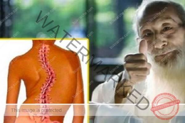 Елементарно упражнение изправя гръбначния стълб (ВИДЕО)