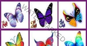 Изберете пеперуда и разберете тайната на вашето щастие!