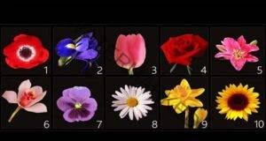 Изберете цвете и разберете най-скритите тайни за себе си