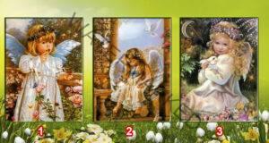 Просто изберете ангел и разберете какво ви очаква в бъдеще