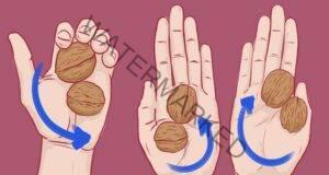 Упражнение с орехи, което премахва стреса и напрежението