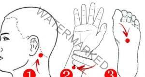Ако страдате от безсъние и главоболие, притеснете тези 3 точки