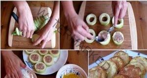 Вкусни панирани тиквички с месо, готови само за 15 минути