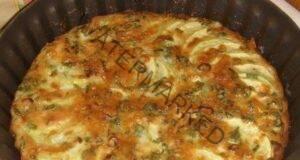 Запеканка от тиквички със зелен лук - ястието е невероятно!