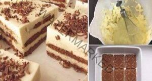 Нежна торта без печене - точно това ни трябва в топлото