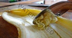Не изхвърляйте банановата кора! Тя може да ви бъде много полезна!