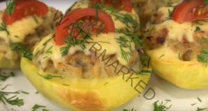 Жулиенът в картофи е просто безпогрешен избор